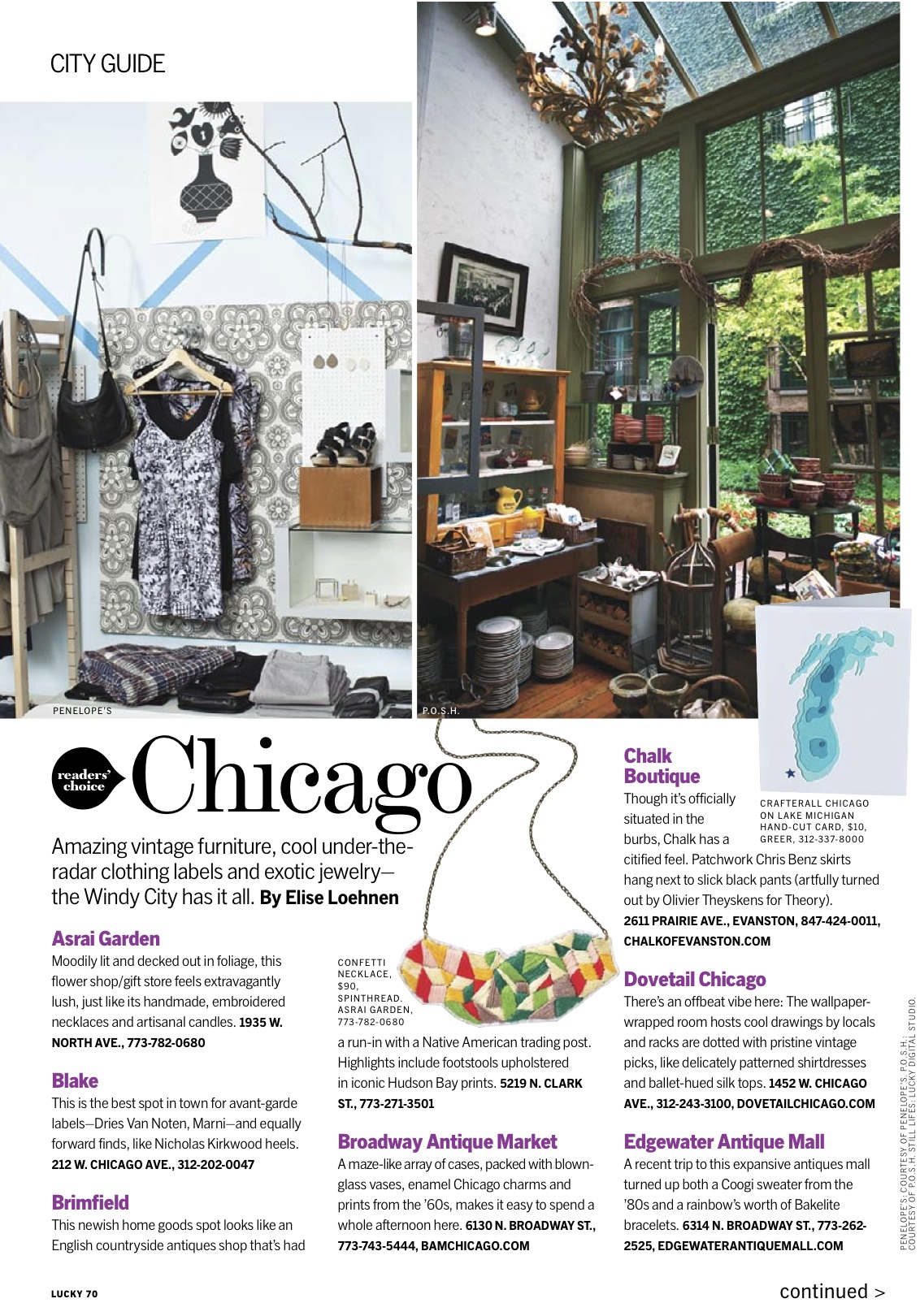 lucky magazine goes shopping in chicago chicityfashion the rh chicityfashion com city guide magazine template delhi city guide magazine