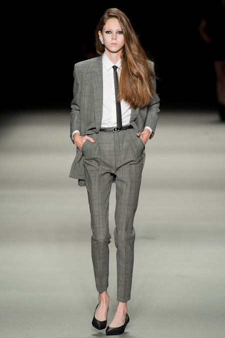 menswear inspired fashion, saint laurent