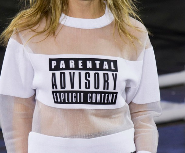 alexander wang, parental advisory