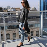 What Why Where: Leather + Denim
