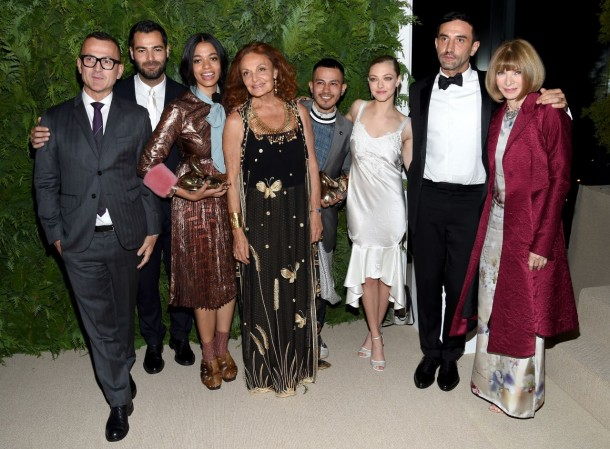 cfda vogue fashion fund awards red carpet