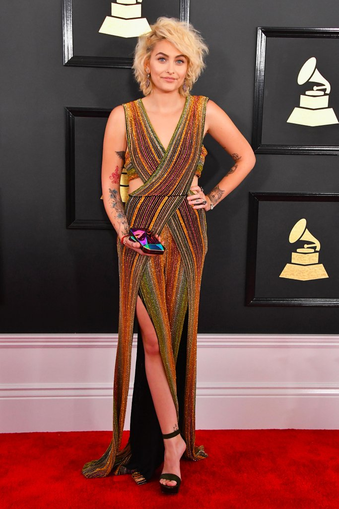 Paris-Jackson-Balmain-Jumpsuit-2017-Grammy-Awards